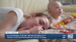 Suffering from 'Mom Burnout' during the pandemic