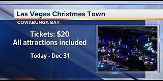 Las Vegas Christmas Town opening