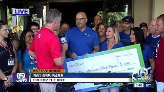 Steve Weagle: Ride for the Red Cross