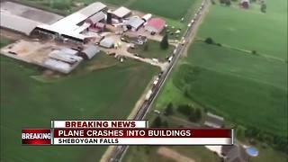 1 dead, 2 hurt after small plane crash near Sheboygan Falls