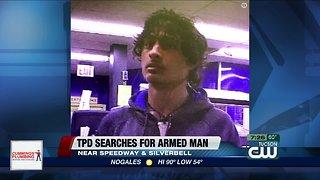 Police look for westside armed robber