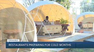 Detroit restaurant preparing for cold months