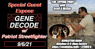 9.6.21 Patriot Streetfighter w/ GENE DECODE: Military Operations, Afghanistan, Secret Space Programs
