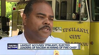 Lawsuit contends race played a role in hiring of new Ypsilanti Fire Chief