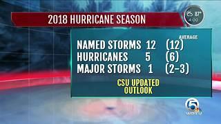Colorado State: Below average hurricane season