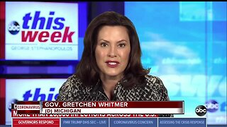 Gov. Whitmer to give update on state's response to COVID-19 outbreak