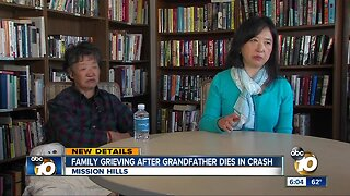 Family grieving after grandfather killed in train crash