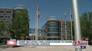 Over 100 local CEO's sign pledge to work towards racial justice