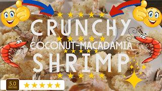 Paleo Crunchy Coconut Macadamia Shrimp Recipe