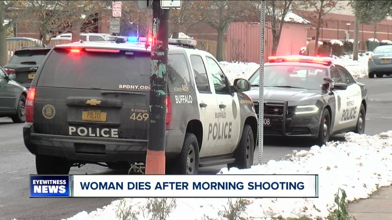 A Buffalo woman has died after being shot on Buffalo's West Side