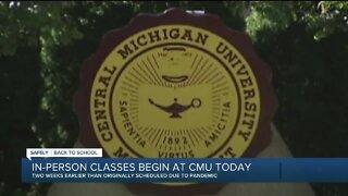 In-person classes begin at Central Michigan University