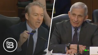 Rand Paul EXPLODES on Dr. Fauci Over Masks and Vaccines in HEATED Exchange