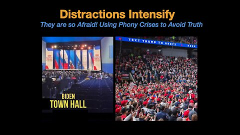 They are so Afraid! Using Phony Crises to Avoid Truth