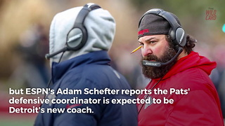 Detroit Lions Reportedly Have Their New Head Coach - Matt Patricia