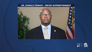 Palm Beach County Superintendent sends out message on Washington unrest