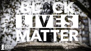 Darth Vader Statue: Because Black Lives & Vaccines Matter
