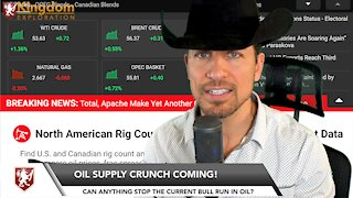 OIL SUPPLY CRUNCH COMING! - Oil Prices January