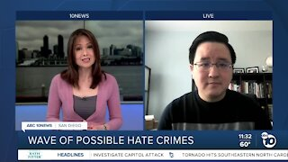Wave of possible hate crimes against Asian-Pacific Islander community