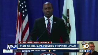 State school supt. provides reopening update