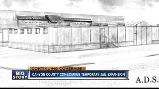 Canyon County Commissioners to vote on temporary jail expansion