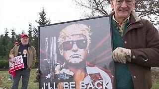 Protests held around metro Detroit amid impeachment inquiry of President Trump