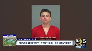 Pinal County: Three killed in crash after vehicle flees deputy in San Tan Valley; driver arrested