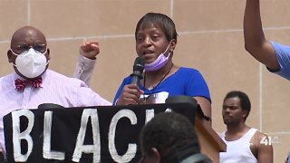 Protesters take message to City Hall