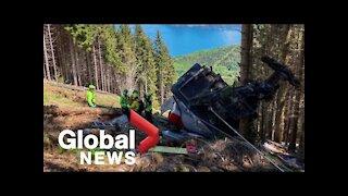 BREAKING: Italian cable car accident kills 13, injures 2 children