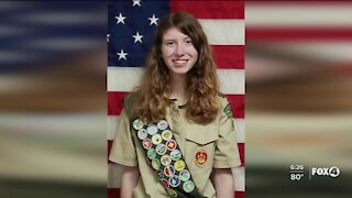 Lee County teen first female eagle scout