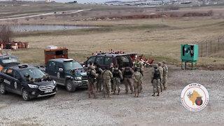 KFOR conducts active shooter traininig