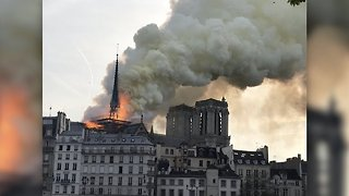 Officials Say Fire At Notre Dame Cathedral Is Under Control