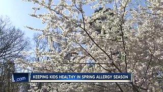 Keeping kids healthy in spring allergy season