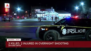 2 killed, 2 injured in overnight shooting in Milwaukee