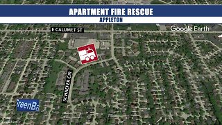 Child among five rescued from apartment building fire