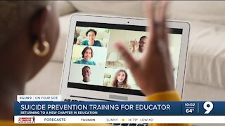 Back to the Classroom: Suicide prevention training for educators