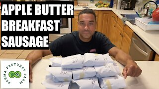 Homemade Apple Butter Breakfast Sausage