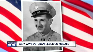 WNY WWII veteran receives medals