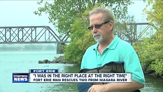Fort Erie man saves boy and mother from Niagara River