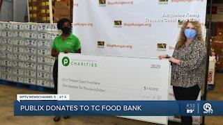 Treasure Coast Food Bank receives $110K donation from Publix