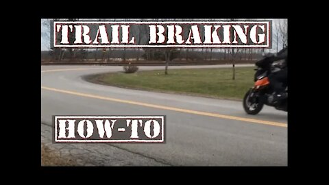 This is Trail Braking