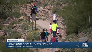 Ignoring social distancing?