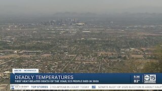 Maricopa County records first heat-related death of the season