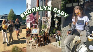 NYC VLOG: Day in Brooklyn, Thrifting, Piercings, Friends