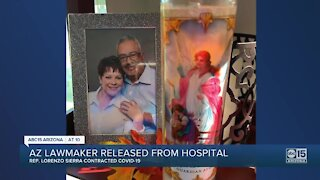 Arizona lawmaker released from hospital