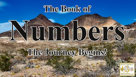 The Book of Numbers Chapter 1a The Army of Israel