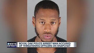Man charged with felony for allegedly threatening to shoot police on Snapchat