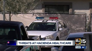 Hacienda Healthcare scandal: Increased security at facility due to threats