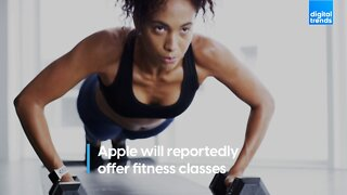 Apple reportedly will offer fitness classes