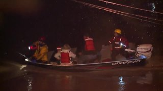 11 people rescued from their homes near Vermilion River
