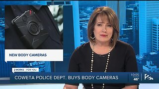 Coweta Police Department Now Has Body Cameras